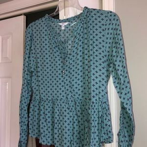 Peasant style top
